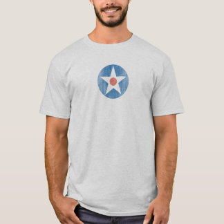 Flugzeug-Stern roundel T - Shirt USA Vintager