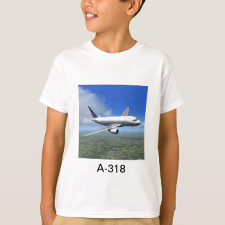 Flugzeug-T - Shirt Airbusses A318