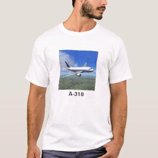 Flugzeug-T - Shirt Airbusses A318