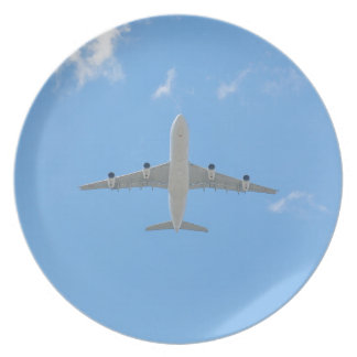 Flugzeug Teller