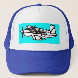Flugzeug Truckerkappe