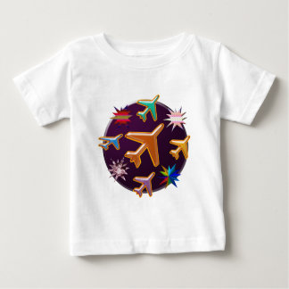 Flugzeuge Baby T-shirt