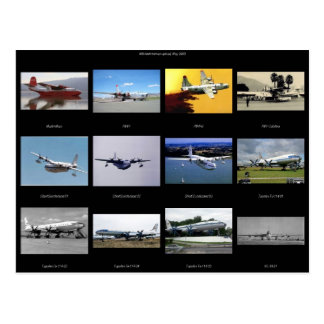Flugzeuge Postkarten