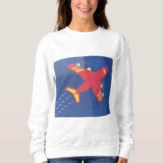 Flugzeugflugzeuge des grundlegenden Sweatshirts
