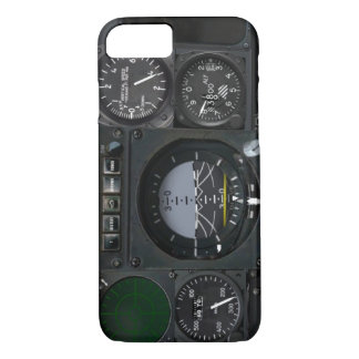 Flugzeuginstrument-Platte iPhone 8/7 Hülle