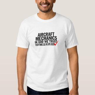 Flugzeugmechaniker Hemden