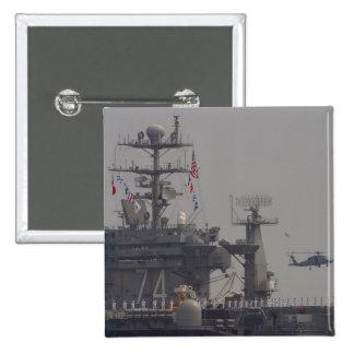 Flugzeugträger Anstecknadelbuttons