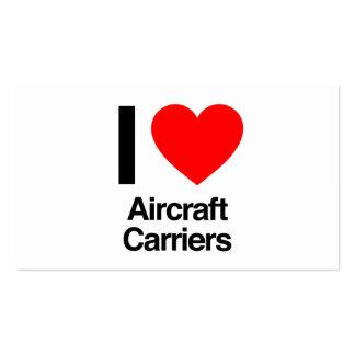 Flugzeugträger der Liebe I Visitenkarten