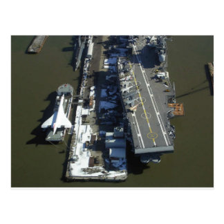 Flugzeugträger furchtloses New York City Postkarten