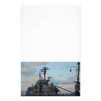 Flugzeugträger in New York Druckpapiere