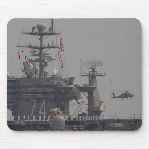 Flugzeugträger Mousepads