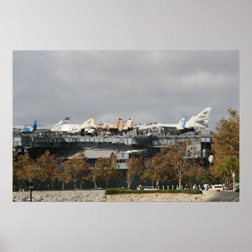Flugzeugträger Posterdrucke