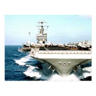 Flugzeugträger-Power und -vertrauen Postkarte