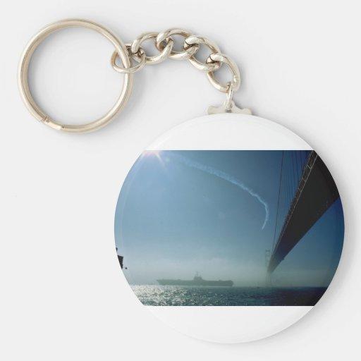 Flugzeugträger Schlüsselanhänger