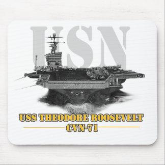 Flugzeugträger Schwarzweiss Mousepads