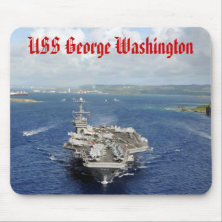 Flugzeugträger USS George Washington Mousepad