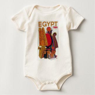 Flugzeugverkehr-alter Kultur-Tourismus Ägyptens Baby Strampler