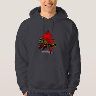 Fluss-Aktivisten-großes Logo-Sweatshirt Kapuzenpullover