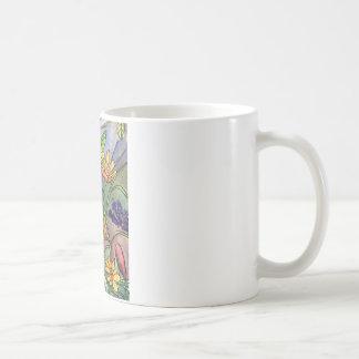Fluss-Bank-wilde Blumen Kaffeetasse