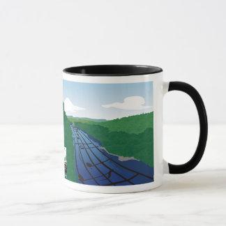 Fluss der Musik-Tasse Tasse