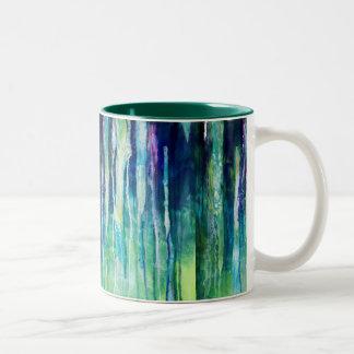 Fluss der Risse Zweifarbige Tasse