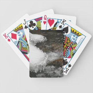 Fluss-Eiszapfen Bicycle Spielkarten