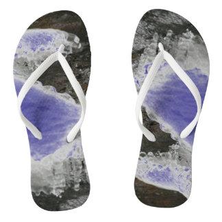 Fluss-Eiszapfen wählen Farbe Flip Flops
