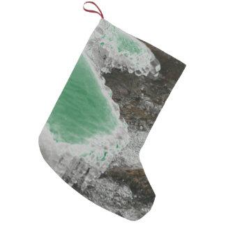Fluss-Eiszapfen wählen Farbe Kleiner Weihnachtsstrumpf