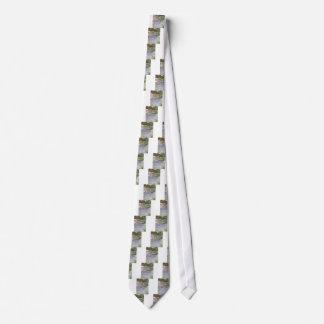 Fluss-Enten Bedruckte Krawatte