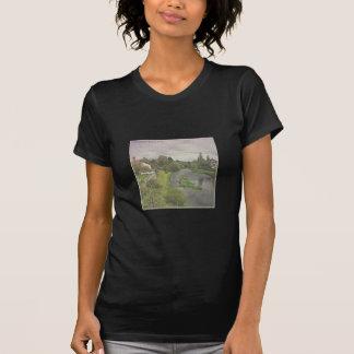 Fluss Hafren in Newtown, Powys T-Shirt