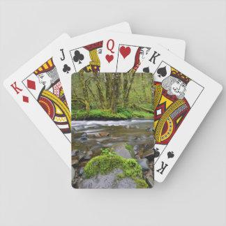 Fluss im grünen Wald, Oregon Spielkarten