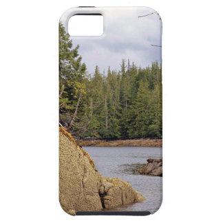 Fluss-Kanal-mäßiger Regen-Wald Kanada iPhone 5 Hüllen