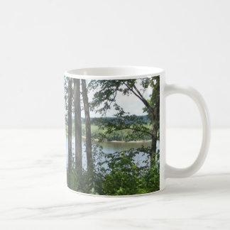 Fluss Mississipi-Bank Kaffeetasse