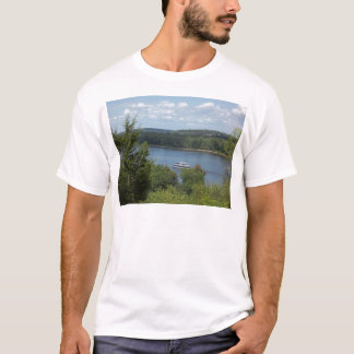 Fluss Mississipi-Boot T-Shirt