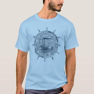 Fluss Mississipi. Reisen. Abenteuer. Entdeckungen T-Shirt
