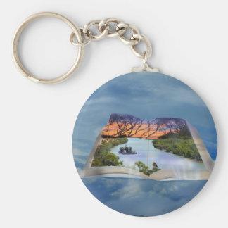Fluss Murray, Seite in einem Buch, Schlüsselanhänger