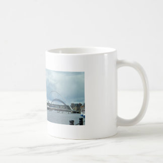 Fluss Newcastle Tyne Kaffeetasse