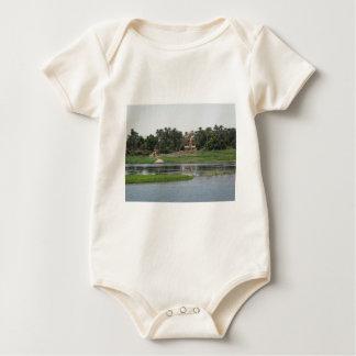Fluss-Nil-Szene Baby Strampler