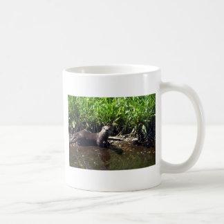 Fluss Otter-Sommer Kaffeetasse
