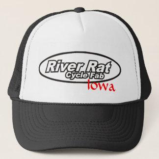 Fluss-Ratten-Zyklus-toller Iowa-Fernlastfahrer-Hut Truckerkappe