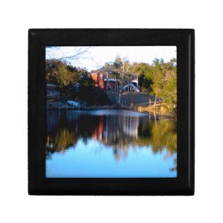 Fluss-Reflexionen Geschenkbox