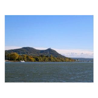 Fluss Rhein Postkarte