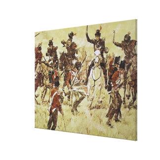 Fluss-Rosine durch Druck Kens Riley Galerie Gefaltete Leinwand