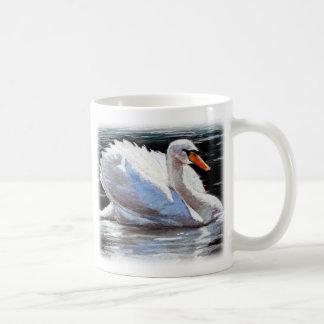 Fluss-Schwan Kaffeetasse