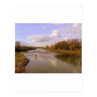 Fluss Shannon Postkarte