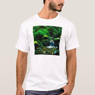 Fluss-steiler Schlucht-Berg Tamalpais T-Shirt