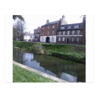 Fluss Welland, Spalding Postkarte