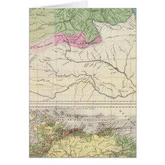 Flüsse und Landwirtschaft von Venezuela Karte