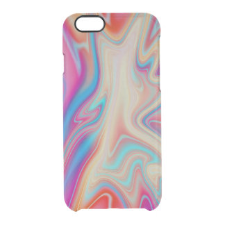 Flüssige bunte Farbe Durchsichtige iPhone 6/6S Hülle