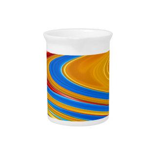 Flüssige Farbe abstrakt Krug